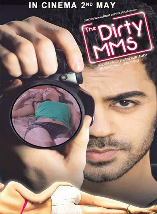 Poster Of Hindi Movie The Dirty MMS (2014) Free Download Full New Hindi Movie Watch Online At Alldownloads4u.Com