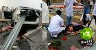 Tai nạn kinh hoàng trên cao tốc Nội Bài - Lào Cai