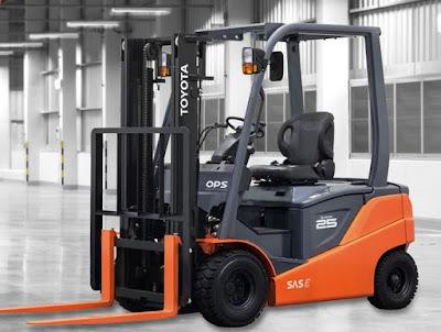 Xe nâng điện Toyota 8FBN 1.5 – 3 tấn 0934172768