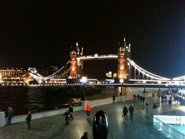 Tower Bridge from the Scoop