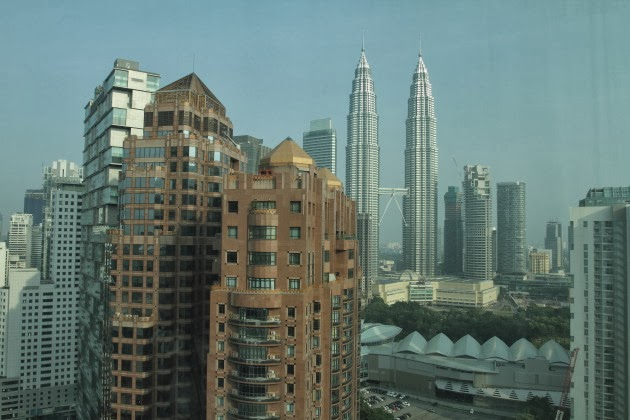 Room with a view at Prince Hotel, Kuala Lumpur