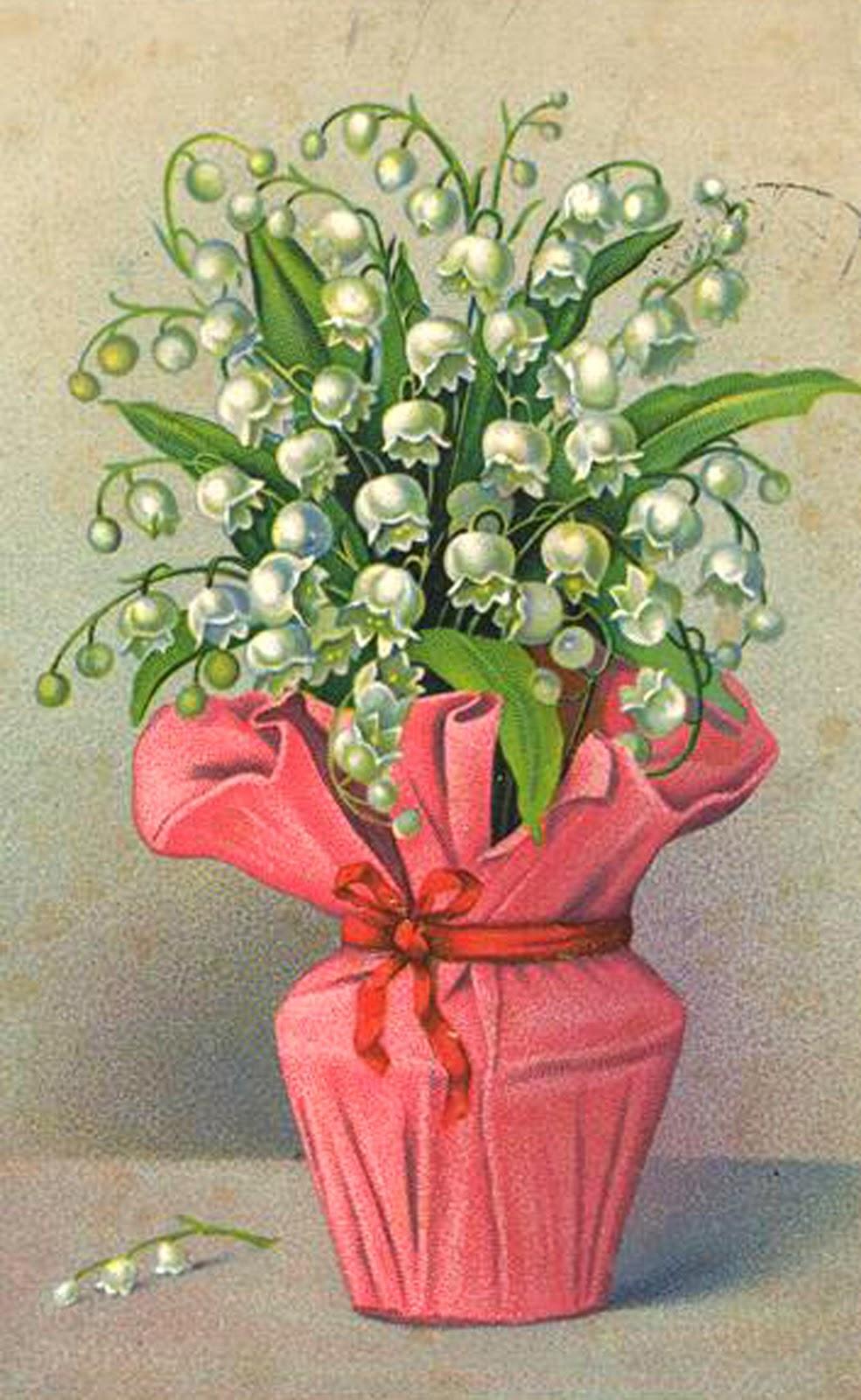 Винтажный картинки с розами к 8 марта