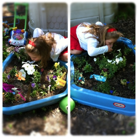 The Mom Standard: DIY on a Budget: Little Tikes Kiddie Pool turned ...