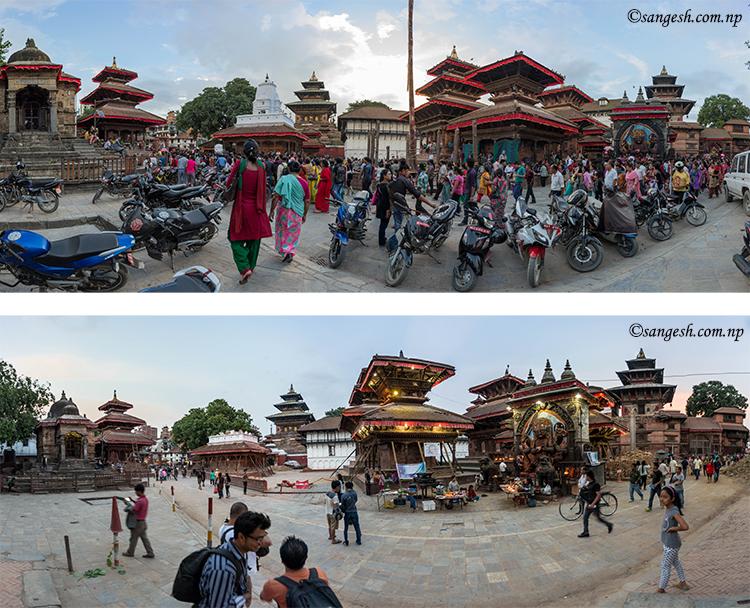 basantapur hanuman dokha palace kathmandu earthquake