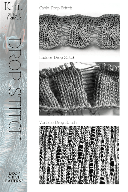 Free Drop Stitch Knitting Patterns : DiaryofaCreativeFanatic