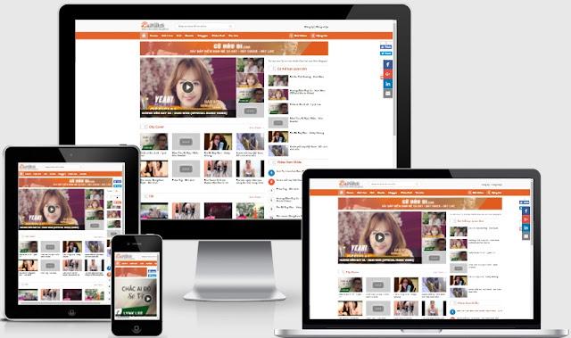 Free beautiful video blogspot template