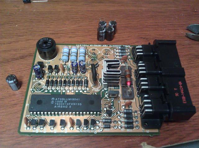 Awesome 1991 Mazda Miata Air Bag Diagnostic Computer Repair System Down Wiring 101 Orsalhahutechinfo