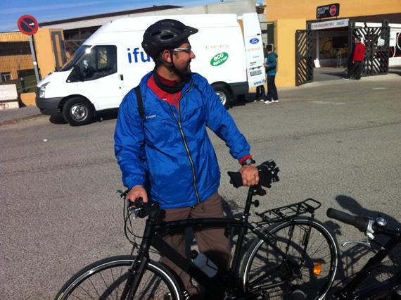 Mi Bicifinde a Sanse, y mi primer día al trabajo en bici