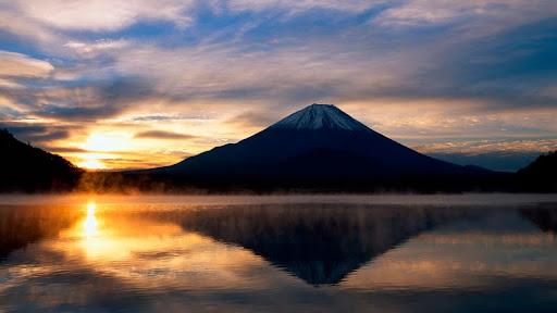 Mount Fuji at Sunset, Honshu, Japan.jpg