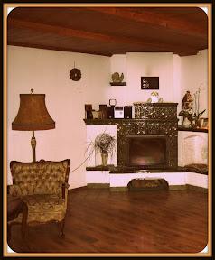 sala jadalna w dworku świętego antoniego