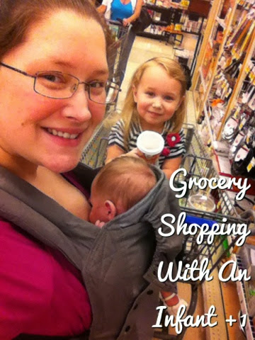 Tips on Grocery Shopping with an Infant #BobaAmbassador
