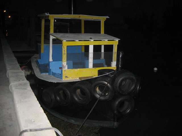 tug with golf cart tires