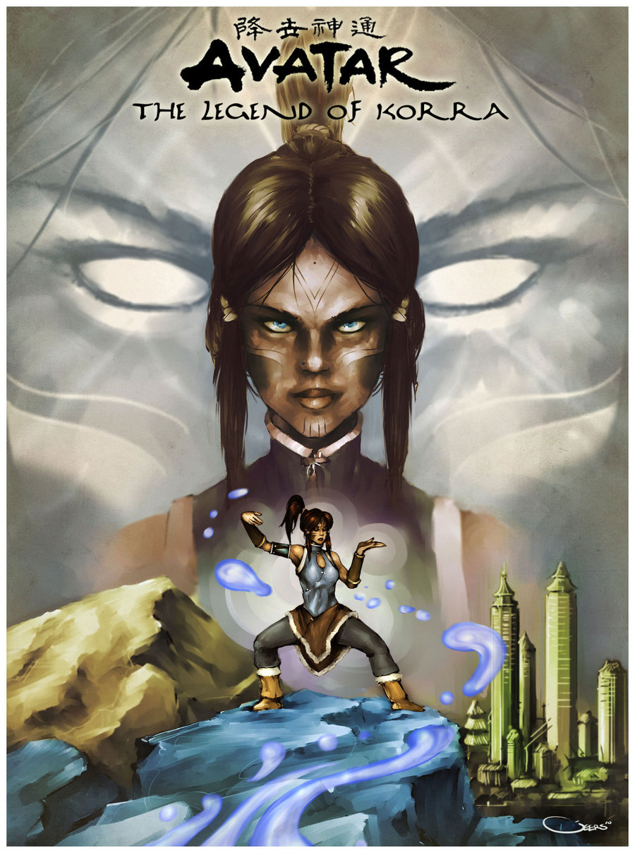 Avatar: The legend of Korra. by *G-e-e-r-s