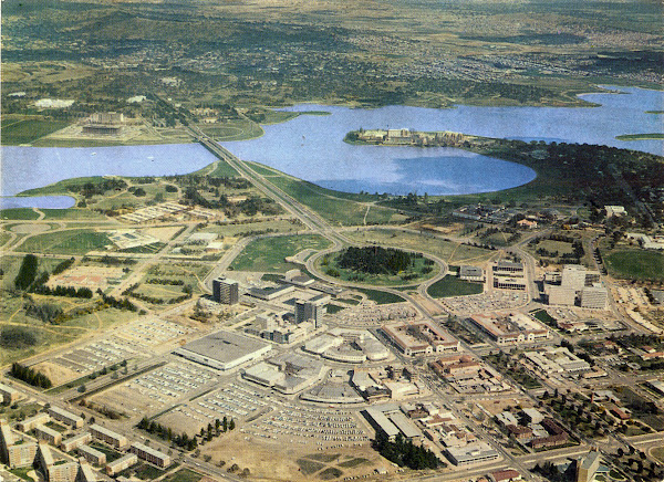 Canberra Aerial