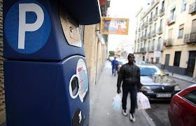 En Arganzuela ya se puede pagar con el móvil el estacionamiento en zona azul