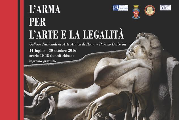 Italy: An exhibit of stolen masterpieces recovered by the Italian Carabinieri opens in Rome