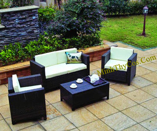 Rattan Sofa Set-MT117