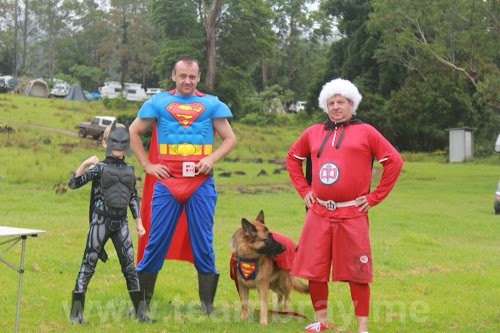 Super Heros at TeamBray
