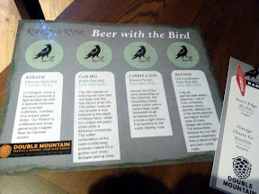 Raven and Rose: Beer with the Bird with Double Mountain and Steve's Cheese
