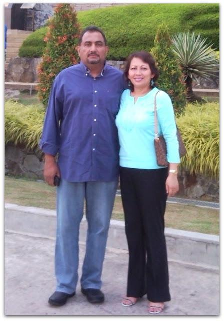 My mum and bapa