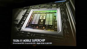 NVIDIA trình làng siêu vi xử lý di động Tegra X1