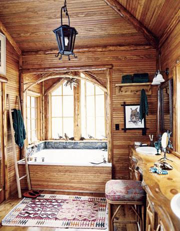 Chandelier Light Fixture White Bathroom Rustic Charm