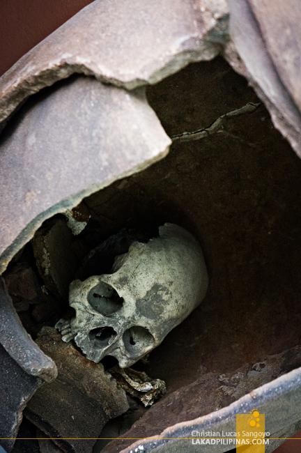Burial Jar at Dumaguete's Silliman Museum