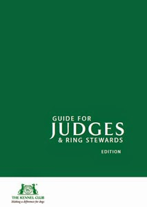 Kennel Club Guide for Judges and Stewards