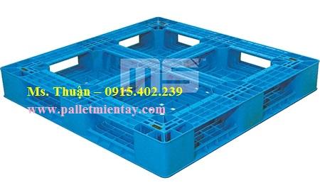 Pallet nhựa nhập khẩu Malaysia N4-1111LA