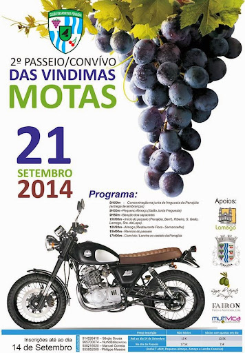 Fotos - 2º Passeio/Convívio das Vindimas – Motas - Penajóia – 21 de Setembro 2014