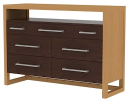 sumatra horizontal dresser