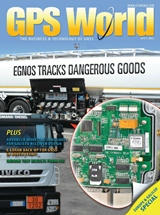 Free Subscription to GPS World Magazine April 2013