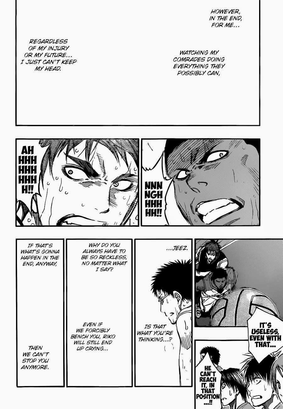 Kuroko no Basket Manga Chapter 258 - Image 16