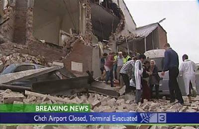 紐西蘭 強震
