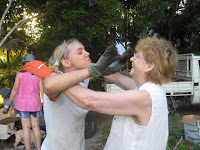 Karyn and Marlene get dirty