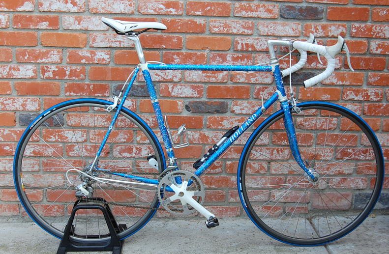 any one spatter painted a bike frame like this before if so care to share any techniques or tips