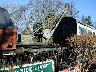 GWR 15 cwt. Crane 610 at Staverton 31/1/03