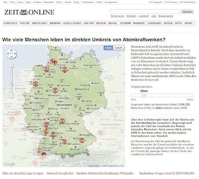 Atomkraftwerke Deutschland Karte.Deutschlandkarte Der Atomkraftwerke Zeigt Wie Viele Menschen Und Wo