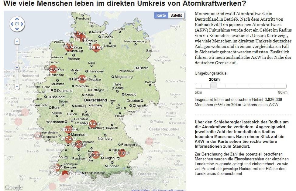 Atomkraftwerke Deutschland Karte.Landkartenblog Deutschlandkarte Der Atomkraftwerke Zeigt Wie Viele