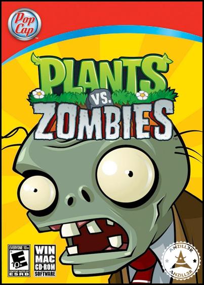 Plants vs Zombies cover pc