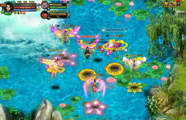 Tỏa sáng cùng cánh thiên thần của Hùng Bá Thiên Hạ 2