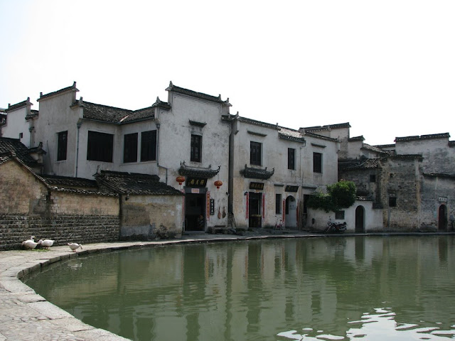 Crescent Moon Pool in Hongcun Village