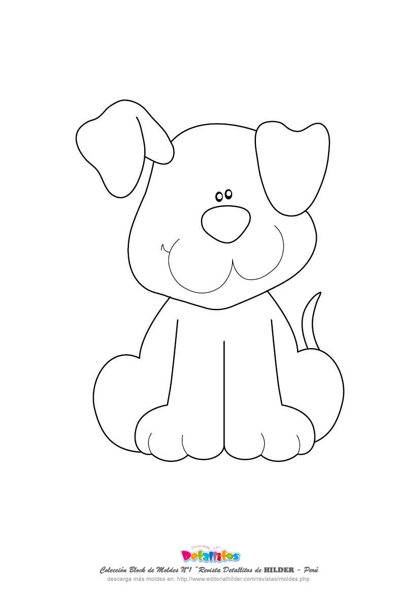 Puppy Dog Template
