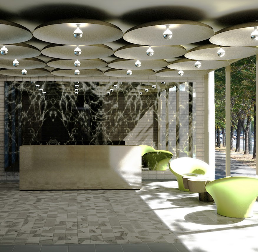 incorporated architecture design benroth rolston stuart WT Lobby Green.jpg