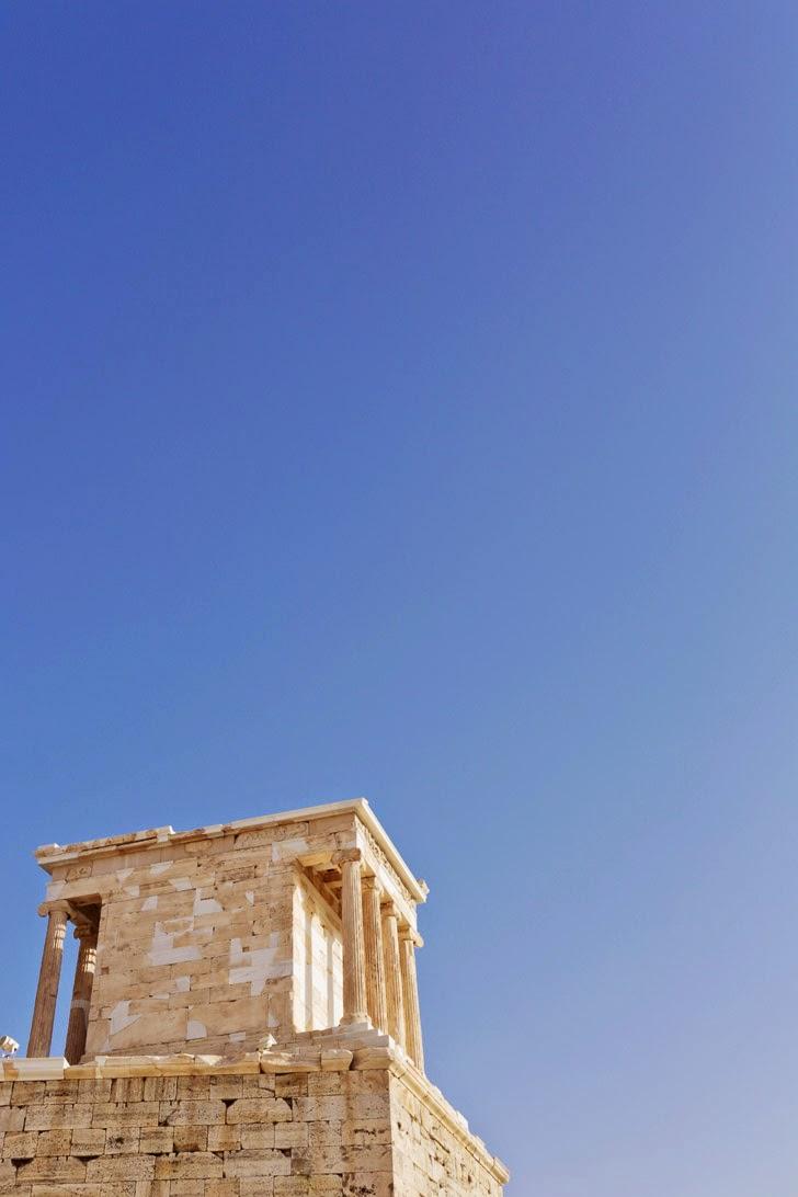 The Temple of Athena Nike.