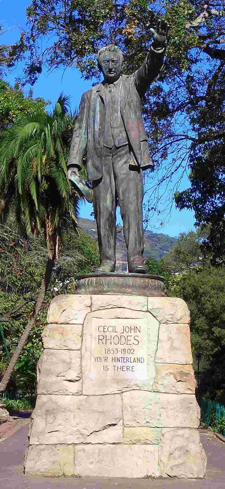 cecil rhodes experiences in cape town Cecil rhodes statue to be kept by oxford university college  the rhodes must  fall campaign saw the removal of a statue in cape town  challenges in relation  to the experience and representation of black and minority.