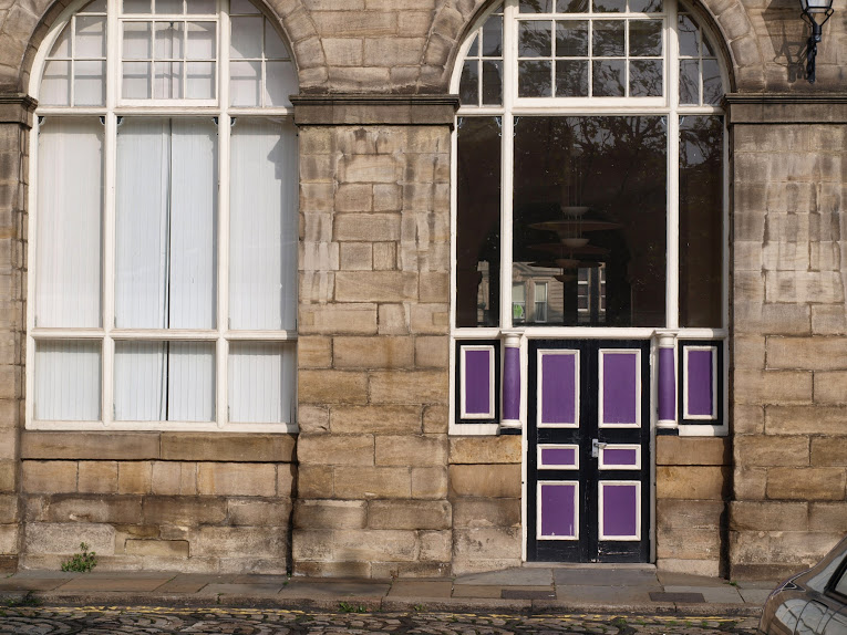 newcastle purple door