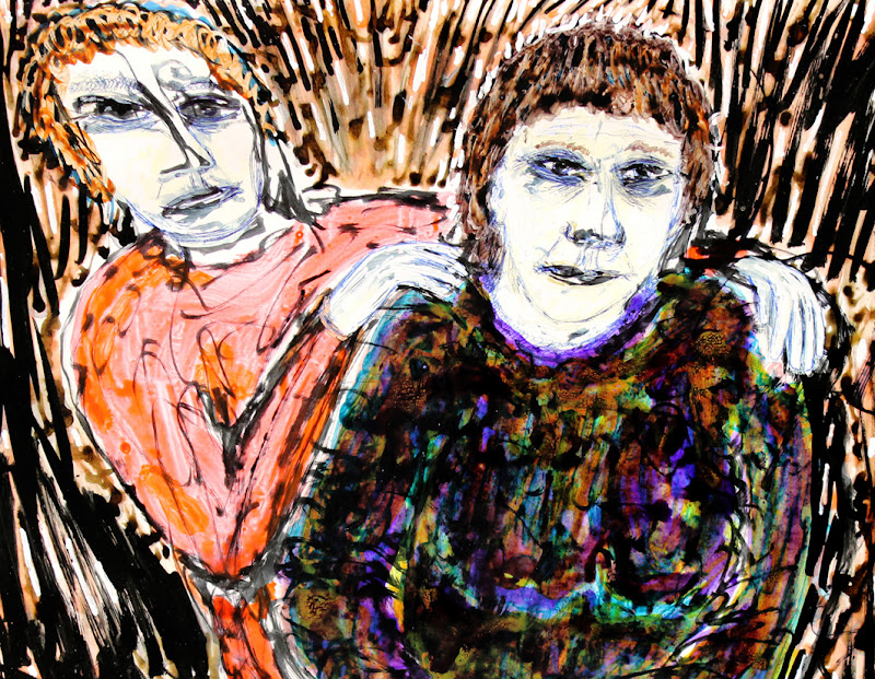 grief and comfort v faces~ frank waaldijk