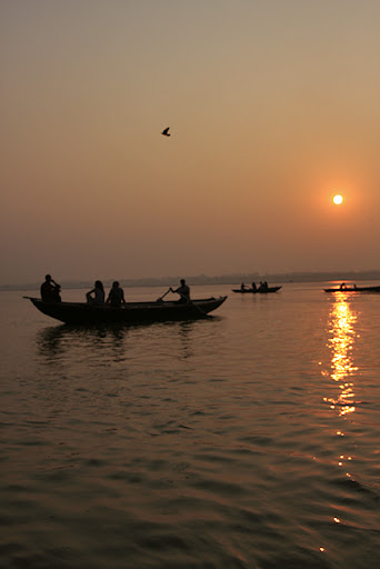 Sunrise Ganges ©christine kaaloa