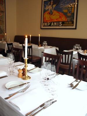 Le Sommelier restaurant in Copenhagen